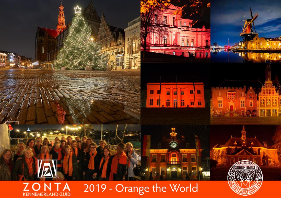 Haarlem kleurde oranje in 2019